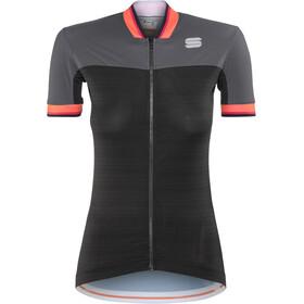 Sportful Grace Koszulka kolarska, krótki rękaw Kobiety szary/czarny